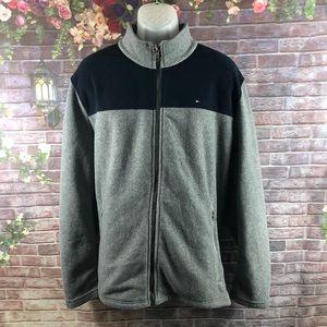 Tommy Hilfiger Men's Fleece Jacket turtleneck XXL